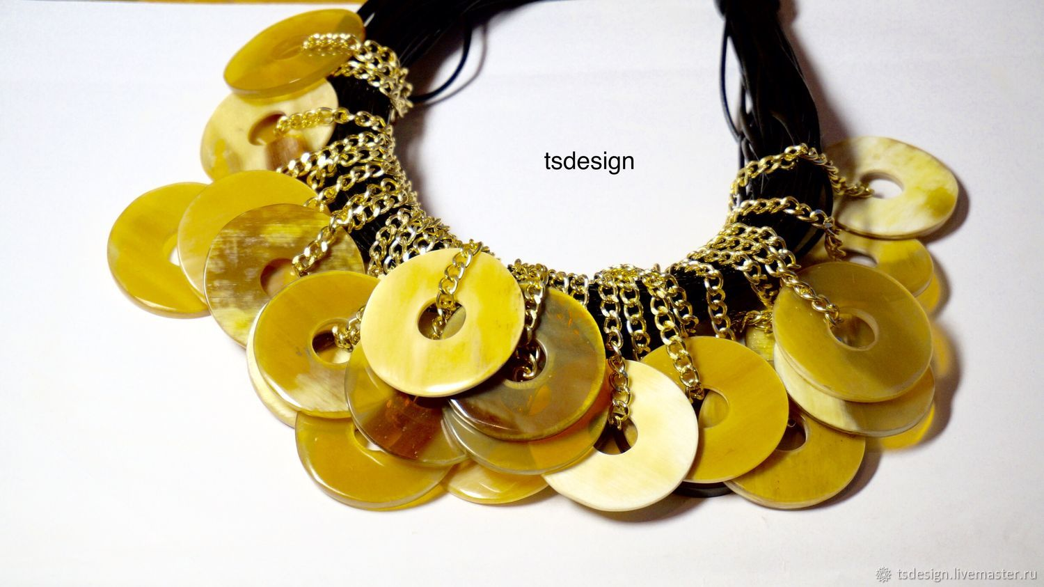 """Necklace """"Chic"""", Chokers, Moscow,  Фото №1"""