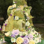 Цветы и флористика ручной работы. Ярмарка Мастеров - ручная работа Корабль свадебный .........букет из конфет. Handmade.