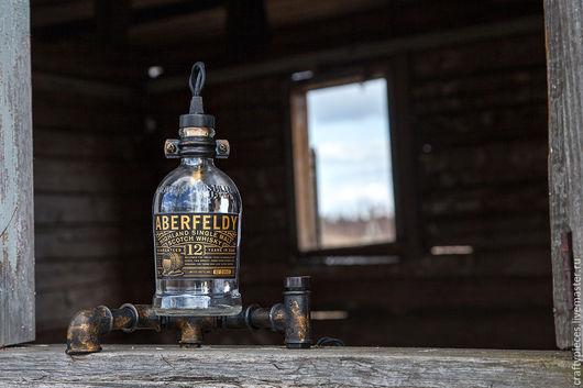 """Освещение ручной работы. Ярмарка Мастеров - ручная работа. Купить Светильник """"Aberfeldy Flask"""". Handmade. Индастриал, оформление интерьера, выключатель"""