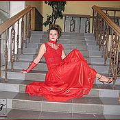 """Одежда ручной работы. Ярмарка Мастеров - ручная работа Авторское платье """"Танец страсти"""". Handmade."""