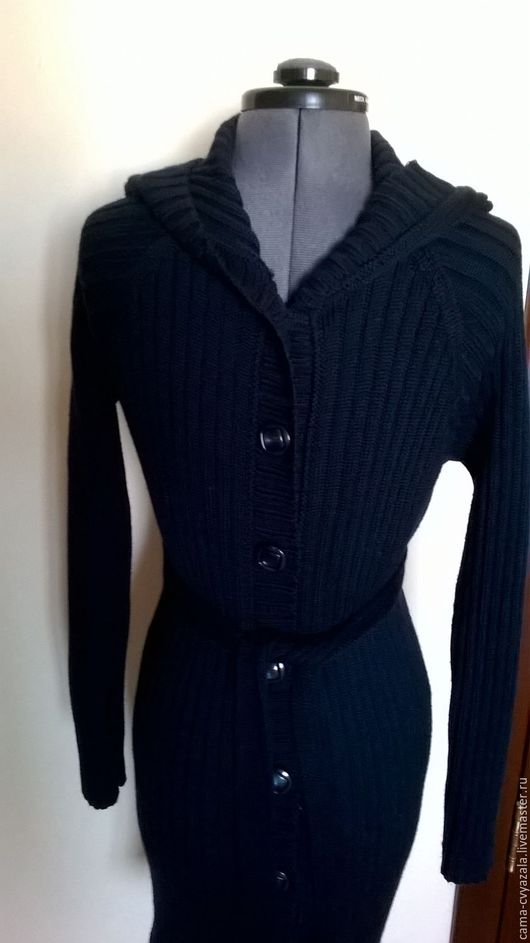 Кофты и свитера ручной работы. Ярмарка Мастеров - ручная работа. Купить кардиган. Handmade. Тёмно-синий, кардиган женский