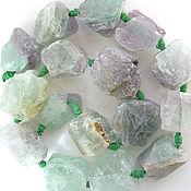 Материалы для творчества handmade. Livemaster - original item Fluorite beads friform. Handmade.