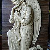 Для дома и интерьера ручной работы. Ярмарка Мастеров - ручная работа Ангел коленоприклонённый. Handmade.