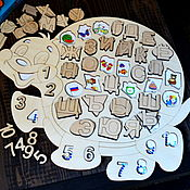 Куклы и игрушки handmade. Livemaster - original item Puzzle sorter