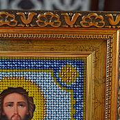 Иконы ручной работы. Ярмарка Мастеров - ручная работа Святой Алексей человек божий. Handmade.