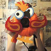 Аксессуары ручной работы. Ярмарка Мастеров - ручная работа Игрушка на объектив Попугай. Handmade.