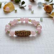 Украшения handmade. Livemaster - original item A bracelet made of beads: Delicate charm bracelet