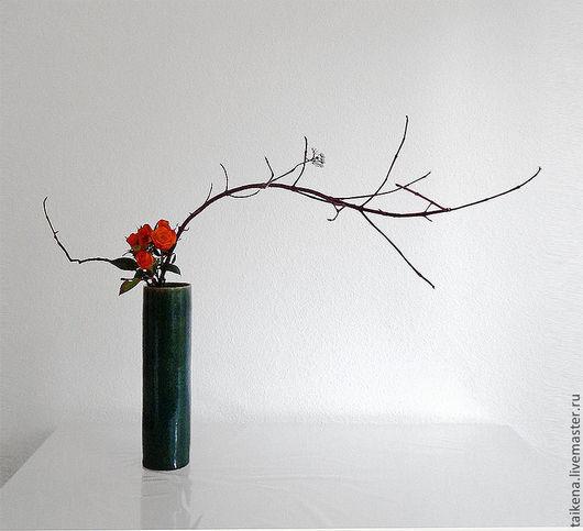 Интерьерные композиции ручной работы. Ярмарка Мастеров - ручная работа. Купить Икебана. Handmade. Икебана, икэбана, ikebana, taikena
