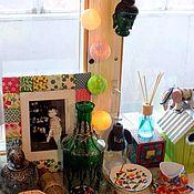 Для дома и интерьера ручной работы. Ярмарка Мастеров - ручная работа Тайские фонарики - гирлянда новогодняя. Handmade.