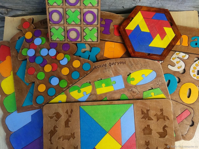 Большой набор - Умняшка -развивашка, Вальдорфские игры наборы, Березовский,  Фото №1