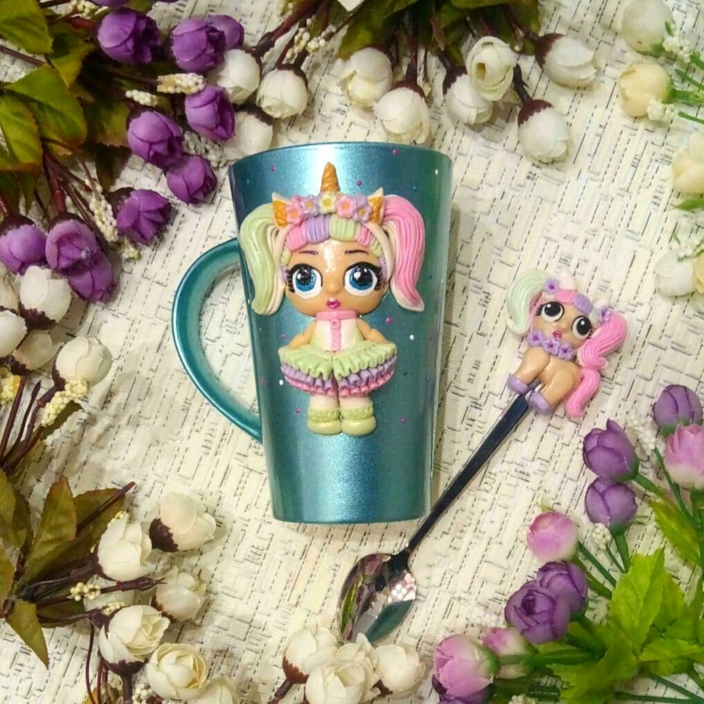 Кружка с декором из полимерной глины, Кружки и чашки, Ногинск,  Фото №1