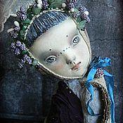 Куклы и игрушки ручной работы. Ярмарка Мастеров - ручная работа Тедди-долл Мотылек Селия. Handmade.