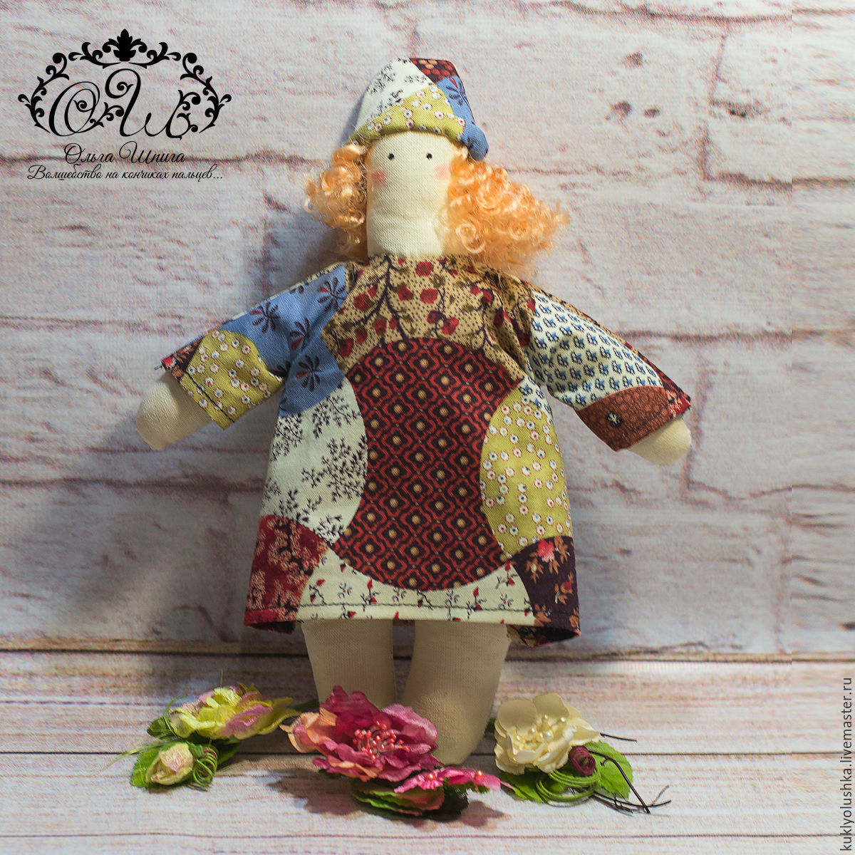 Кукла  Тильда Садовый ангел с секретом, Куклы Тильда, Буденновск,  Фото №1