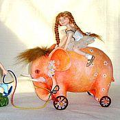 Куклы и игрушки ручной работы. Ярмарка Мастеров - ручная работа Оранжевое настроение. Handmade.