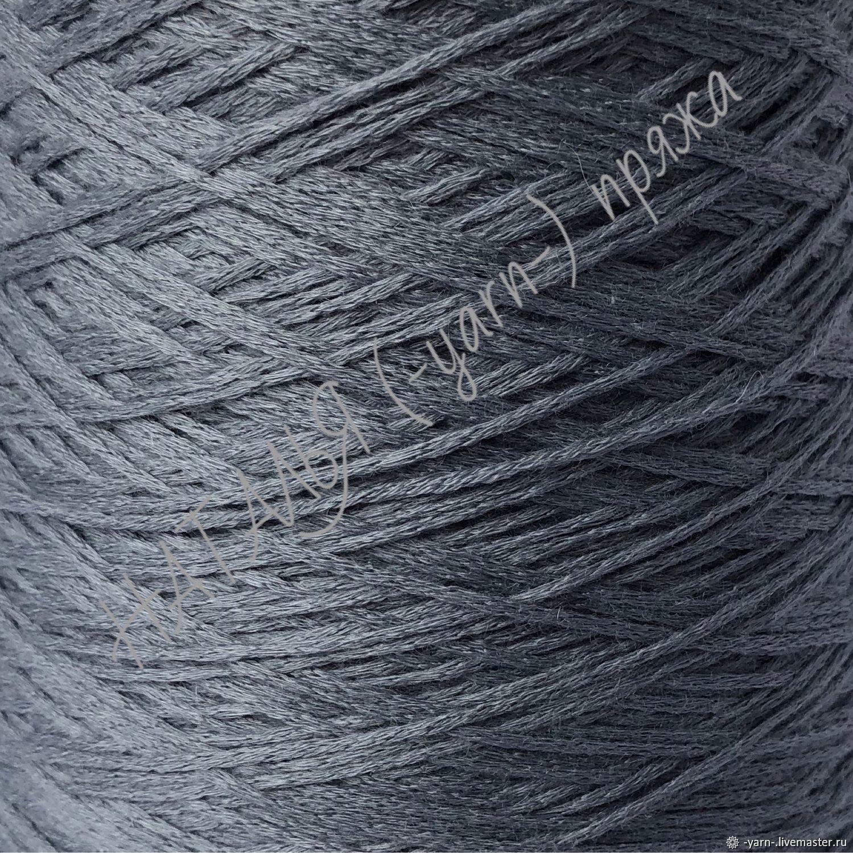 Пряжа Кашемир эластан шнурок серо-голубой – купить на Ярмарке Мастеров – J4LT0RU | Пряжа, Санкт-Петербург