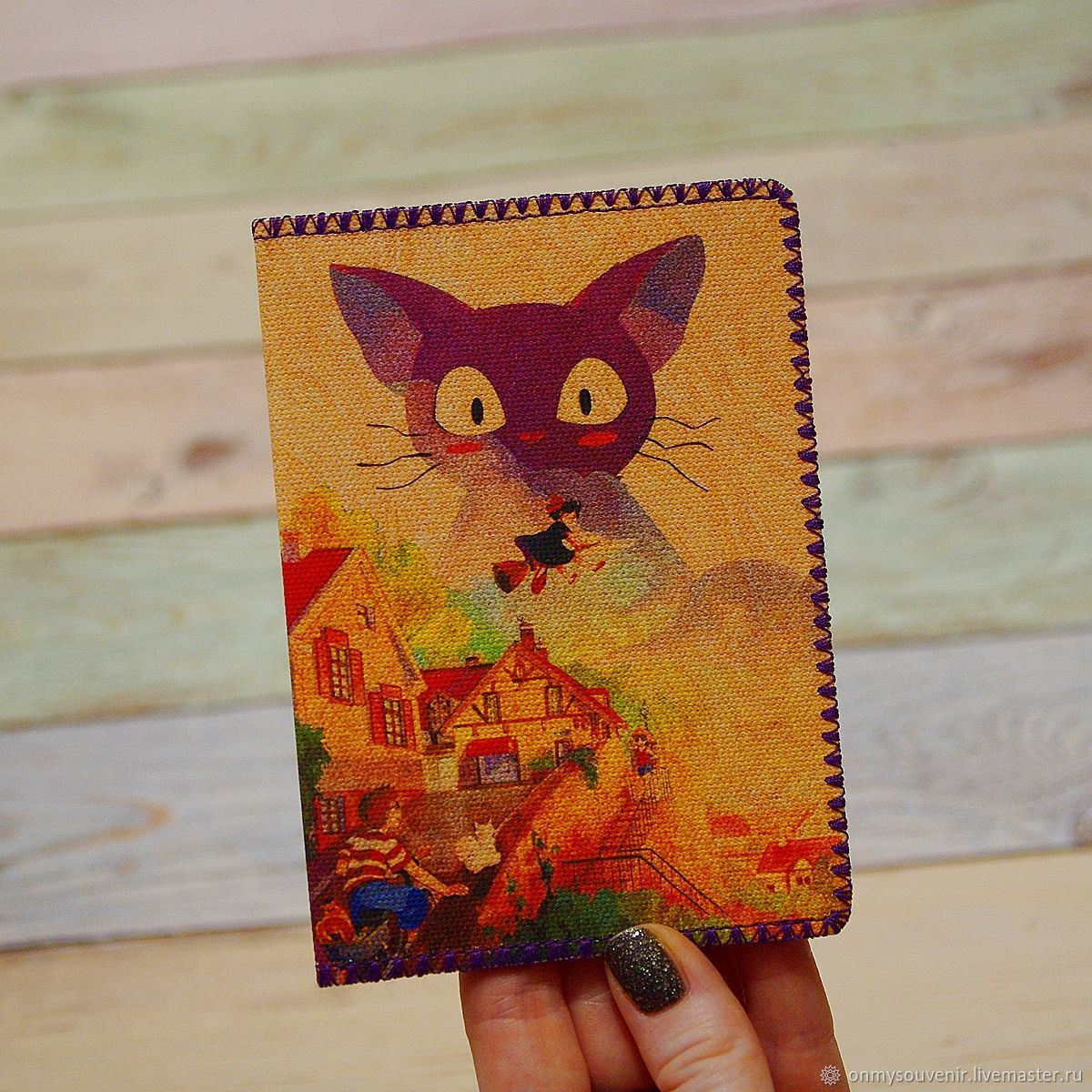 Passport cover ' witch delivery service', Passport cover, Voronezh,  Фото №1