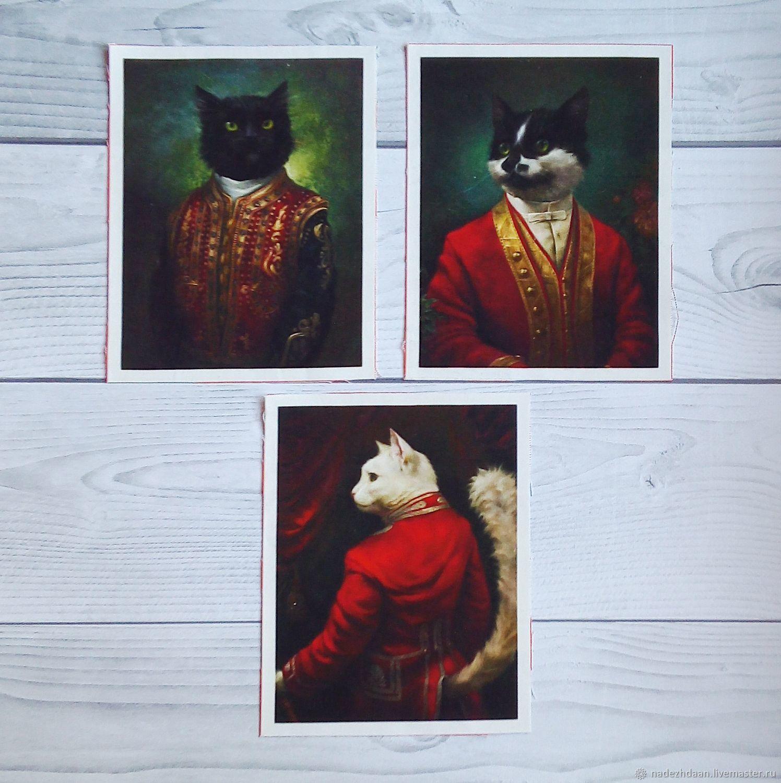 Тканевые коты
