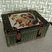 Для дома и интерьера handmade. Livemaster - original item Braided suitcase