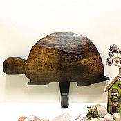 """Для дома и интерьера ручной работы. Ярмарка Мастеров - ручная работа Вешалка-ключница """"Черепаха"""". Handmade."""