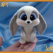 """Куклы и игрушки ручной работы. Ярмарка Мастеров - ручная работа Зайка """"Лапаушка"""". Handmade."""