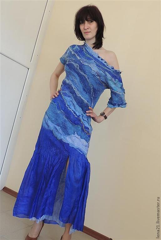 Платье Морская пена, Платья, Раменское,  Фото №1