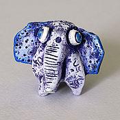 Модели ручной работы. Ярмарка Мастеров - ручная работа Слон керамический Джошуа. Фигурка слона, слон сувенир. Handmade.