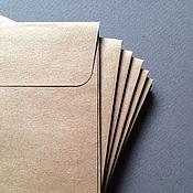 Материалы для творчества ручной работы. Ярмарка Мастеров - ручная работа Конверт для диска. Handmade.