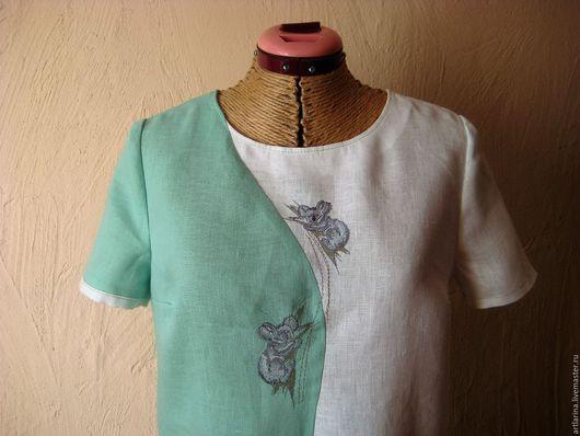 """Платья ручной работы. Ярмарка Мастеров - ручная работа. Купить Платье """" Коала"""". Handmade. Комбинированный, коала"""