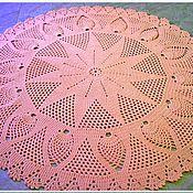 Для дома и интерьера handmade. Livemaster - original item Rug round handmade knotted cord Pink Chic. Handmade.