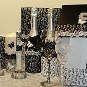 Свадебный салон ручной работы. Ярмарка Мастеров - ручная работа Набор аксессуаров для свадьбы. Handmade.