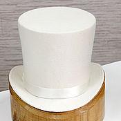 Аксессуары handmade. Livemaster - original item Unisex wedding cylinder. Milky color. Handmade.
