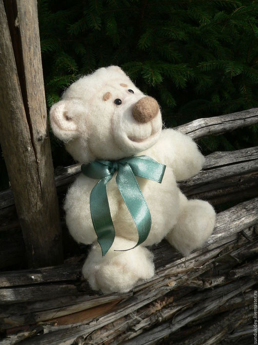 Мишки Тедди ручной работы. Ярмарка Мастеров - ручная работа. Купить Медведь Амвросий. Handmade. Белый, мишка ручной работы
