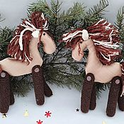 Куклы и игрушки handmade. Livemaster - original item Horse, Horse Toy, Horse Toy, Horse, Animal Toys. Handmade.