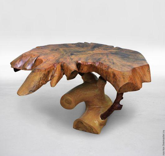 Мебель ручной работы. Ярмарка Мастеров - ручная работа. Купить Столик журнальный из массива. Handmade. Стол, столик, столик журнальный