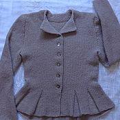 Одежда handmade. Livemaster - original item Jacket with peplum. Handmade.