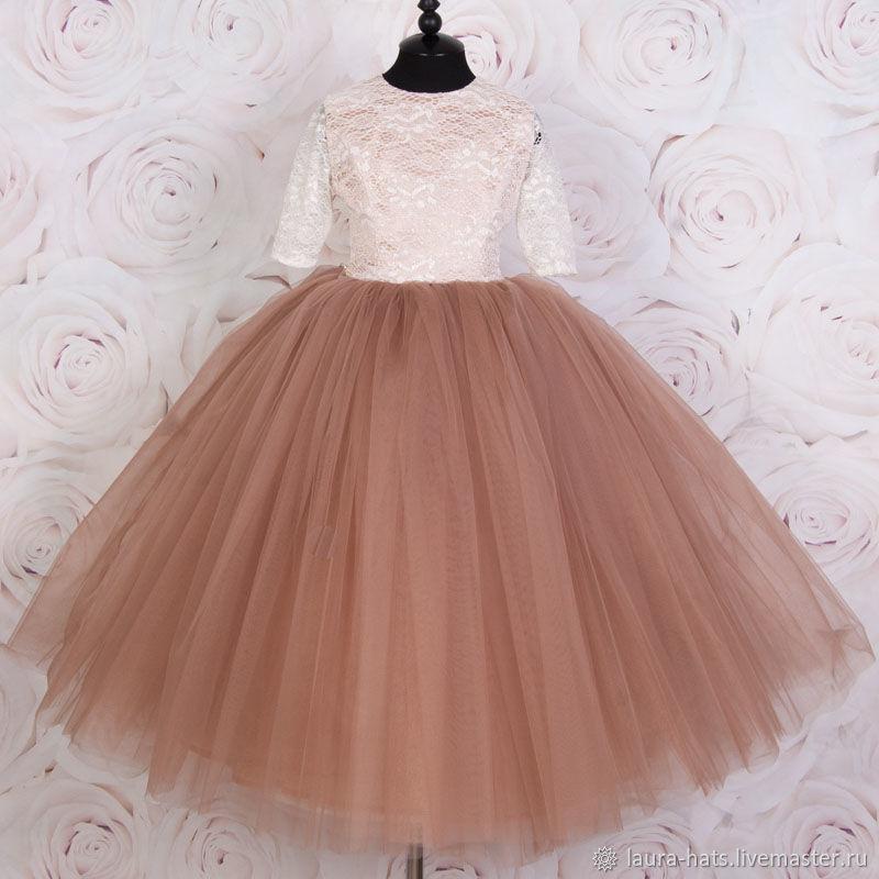 Нарядное платье для девочки на выпускной Бальное 26ebaa67f3df0