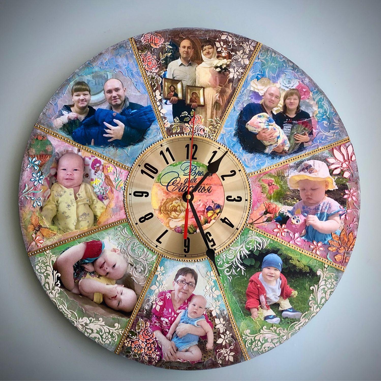 Часы « Время для счастья », Часы классические, Пятигорск,  Фото №1