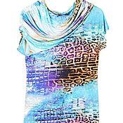 Одежда ручной работы. Ярмарка Мастеров - ручная работа Яркое платье на лето. Handmade.