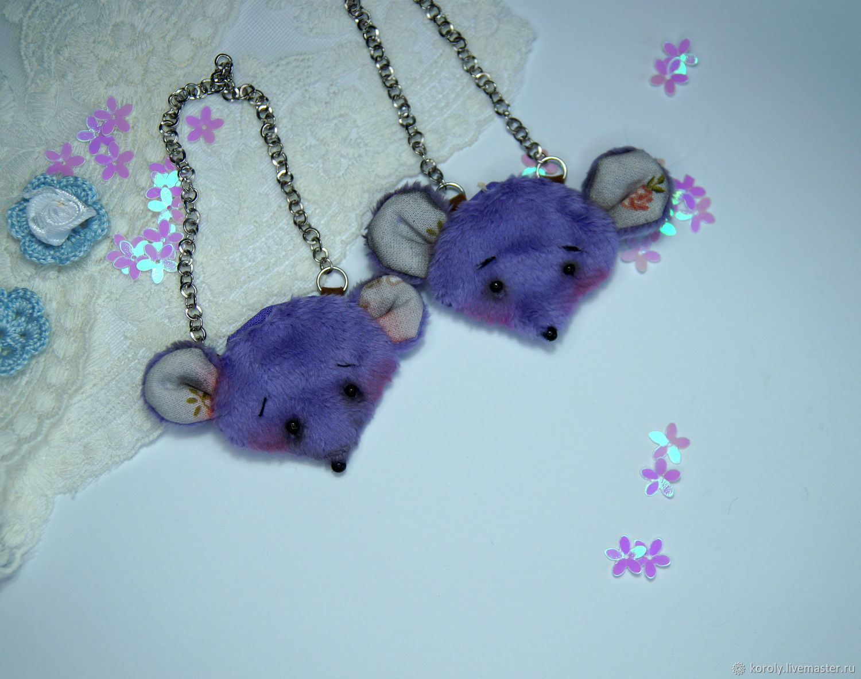 Mouse bag purse for dolls 1/6 Doll handbag rat, Clothes for dolls, Yaroslavl,  Фото №1