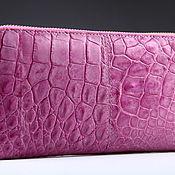 Сумки и аксессуары handmade. Livemaster - original item Crocodile leather wallet IMA0206P5. Handmade.