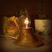 Для дома и интерьера ручной работы. Ярмарка Мастеров - ручная работа Ночник Свеча. Handmade.