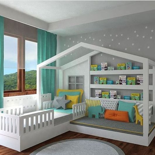 Детская ручной работы. Ярмарка Мастеров - ручная работа. Купить Кроватка для ребёнка. Handmade. Кровать, кровать из дерева, кровать детская