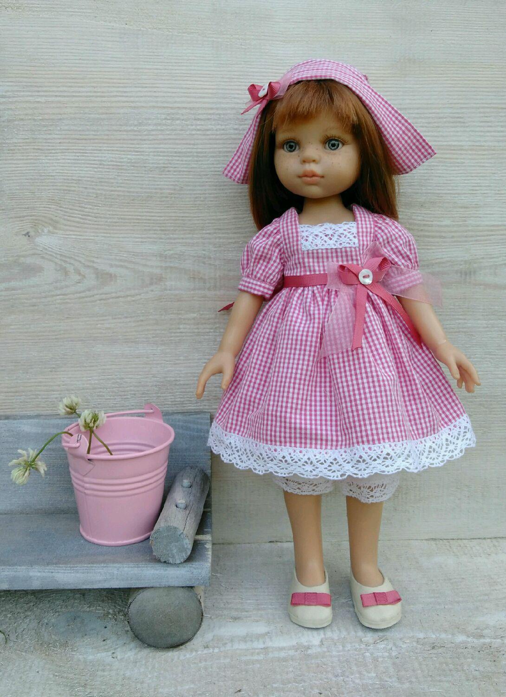 Одежда для кукол паола своими руками фото 10