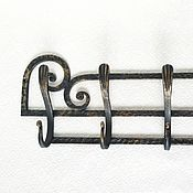 Для дома и интерьера handmade. Livemaster - original item Forged hanger