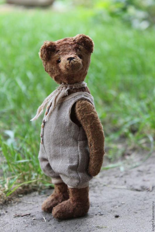 Мишки Тедди ручной работы. Ярмарка Мастеров - ручная работа. Купить Брик. Handmade. Коричневый, плюш