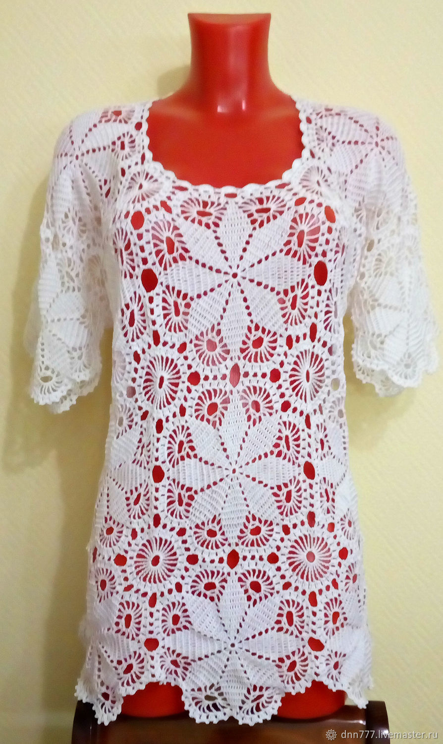 a397fb70bc1 white blouse – shop online on Livemaster with shipping - ER6IHCOM