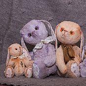 Куклы и игрушки ручной работы. Ярмарка Мастеров - ручная работа Семейство Зайцев. Handmade.