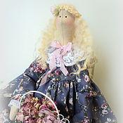 Куклы и игрушки ручной работы. Ярмарка Мастеров - ручная работа Кукла в стиле Тильда. Розовые грезы.... Handmade.