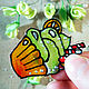 Stained glass stickers-stickers with desserts. Stickers. sidnsk (SiDnsk). Online shopping on My Livemaster.  Фото №2
