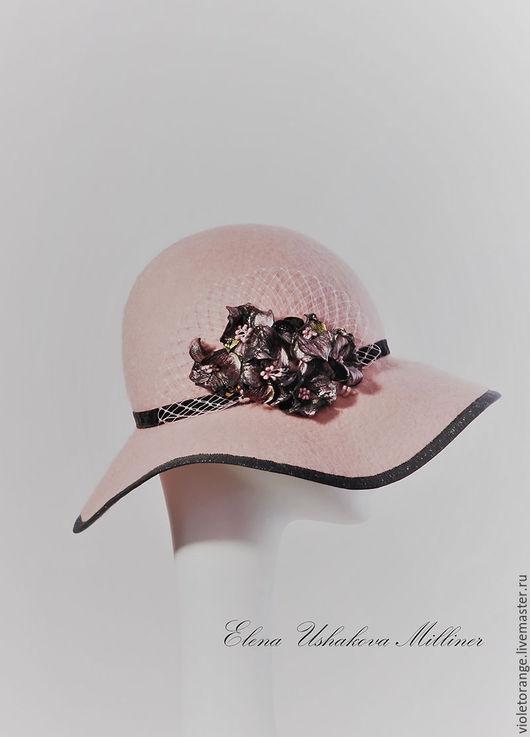 Войлочная шляпа дизайнера Елены Ушаковой. Бренд Evo Luxury - это ручная работа высшего качества. Женские шляпки Evo Luxury отличает интеллигентность, индивидуальность, утонченность и стиль.